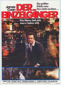 Thief - 27 x 40 Movie Poster - German Style A