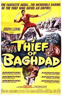 Thief of Baghdad - 11 x 17 Movie Poster - Style A