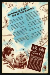 Thin Ice - 11 x 17 Movie Poster - Style B