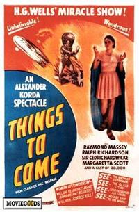 Things to Come - 43 x 62 Movie Poster - Bus Shelter Style A