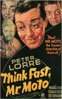 Think Fast, Mr. Moto - 11 x 17 Movie Poster - Style A