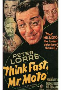 Think Fast, Mr. Moto - 27 x 40 Movie Poster - Style A