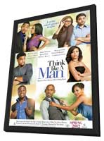 Think Like a Man - 11 x 17 Movie Poster - Style A - in Deluxe Wood Frame