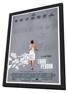 Third Person - 11 x 17 Movie Poster - Style A - in Deluxe Wood Frame