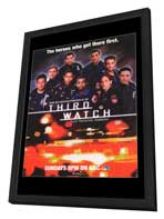 Third Watch - 27 x 40 TV Poster - Style B - in Deluxe Wood Frame