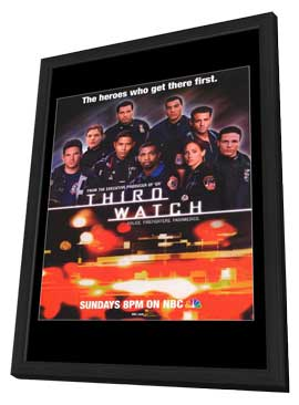 Third Watch - 11 x 17 TV Poster - Style B - in Deluxe Wood Frame