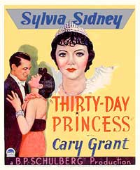 Thirty Day Princess - 11 x 17 Movie Poster - Style D