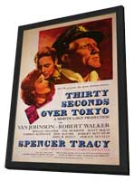 Thirty Seconds Over Tokyo - 11 x 17 Movie Poster - Style A - in Deluxe Wood Frame