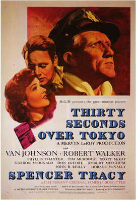 Thirty Seconds Over Tokyo - 11 x 17 Movie Poster - Style A