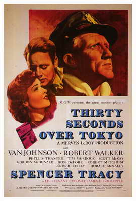 Thirty Seconds Over Tokyo - 27 x 40 Movie Poster - Style A