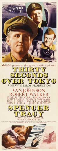 Thirty Seconds Over Tokyo - 14 x 36 Movie Poster - Insert Style A