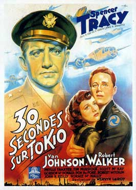 Thirty Seconds Over Tokyo - 11 x 17 Movie Poster - French Style A