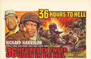 Thirty Six Hours to Hell - 27 x 40 Movie Poster - Belgian Style A