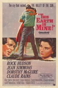 This Earth Is Mine - 43 x 62 Movie Poster - Bus Shelter Style A