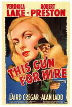 This Gun for Hire - 27 x 40 Movie Poster - Style A