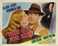 This Gun for Hire - 11 x 17 Movie Poster - Style H