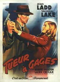 This Gun for Hire - 11 x 17 Movie Poster - French Style A