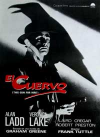 This Gun for Hire - 11 x 17 Movie Poster - Spanish Style B