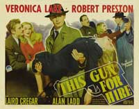 This Gun for Hire - 11 x 14 Movie Poster - Style C