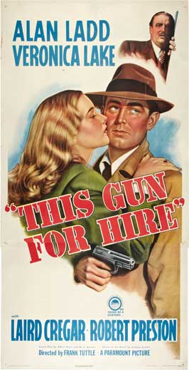 This Gun for Hire - 20 x 40 Movie Poster - Style A