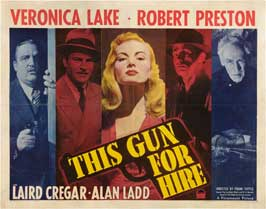 This Gun for Hire - 11 x 14 Movie Poster - Style D