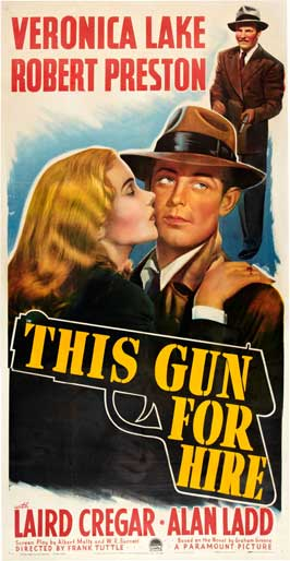 This Gun for Hire - 20 x 40 Movie Poster - Style B