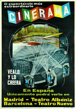 This is Cinerama - 27 x 40 Movie Poster - Spanish Style A