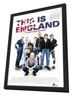 This Is England - 11 x 17 Movie Poster - Dutch Style A - in Deluxe Wood Frame
