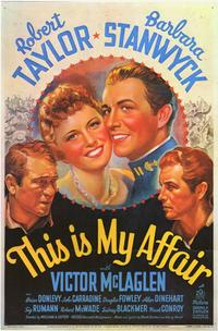 This is My Affair - 11 x 17 Movie Poster - Style A