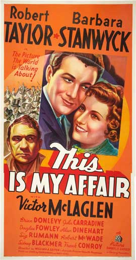 This is My Affair - 20 x 40 Movie Poster - Style A