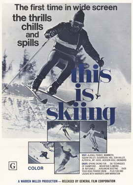 This is Skiing - 11 x 17 Movie Poster - Style A