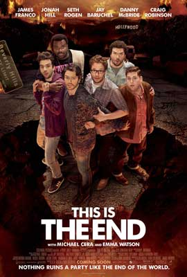 This Is the End - 27 x 40 Movie Poster - Style B