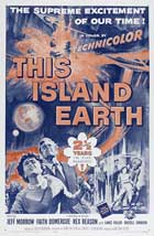 This Island Earth - 27 x 40 Movie Poster - Style F