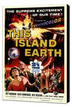 This Island Earth - 11 x 17 Movie Poster - Style C - Museum Wrapped Canvas