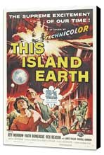 This Island Earth - 27 x 40 Movie Poster - Style B - Museum Wrapped Canvas