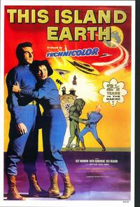 This Island Earth - 11 x 17 Movie Poster - Style B