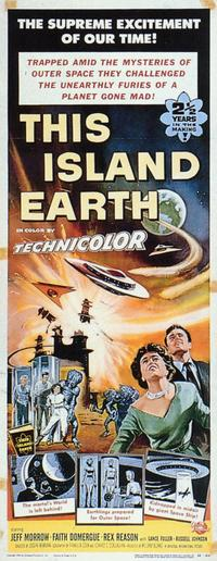 This Island Earth - 14 x 36 Movie Poster - Insert Style A