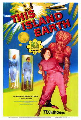 This Island Earth - 27 x 40 Movie Poster - Style A
