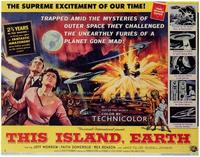 This Island Earth - 22 x 28 Movie Poster - Half Sheet Style A