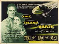 This Island Earth - 30 x 40 Movie Poster UK - Style A