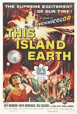 This Island Earth - 27 x 40 Movie Poster - Style B