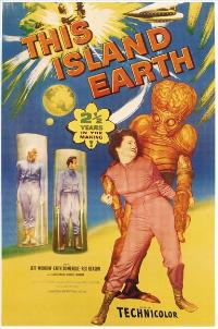 This Island Earth - 11 x 17 Movie Poster - Style E