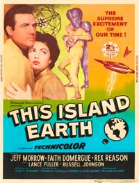 This Island Earth - 11 x 17 Movie Poster - Style F