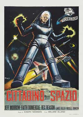 This Island Earth - 11 x 17 Movie Poster - Italian Style B