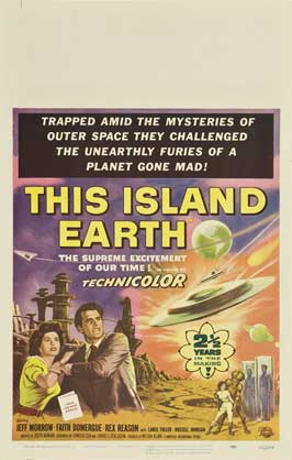 This Island Earth - 11 x 17 Movie Poster - Style I