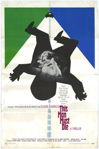 This Man Must Die - 11 x 17 Movie Poster - Style B