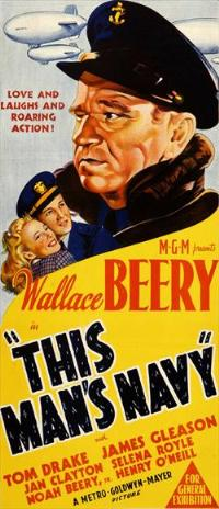 This Man's Navy - 14 x 36 Movie Poster - Insert Style A
