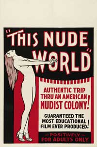 This Nude World - 11 x 17 Movie Poster - Style B
