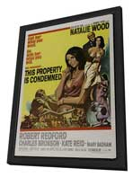 This Property Is Condemned - 27 x 40 Movie Poster - Style A - in Deluxe Wood Frame