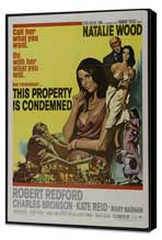 This Property Is Condemned - 11 x 17 Movie Poster - Style A - Museum Wrapped Canvas